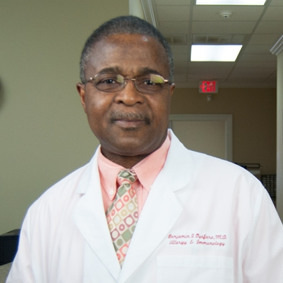 Benjamin I. Oyefara, M.D. - President and Medical Director image